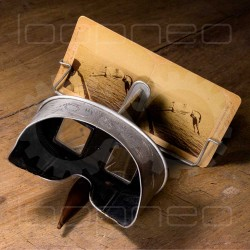 Old stereoscope viewer for...
